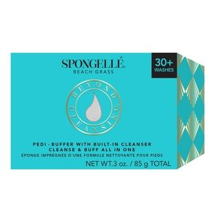 Spongellé Beach Grass 30+  Pedi Buffer cleanser